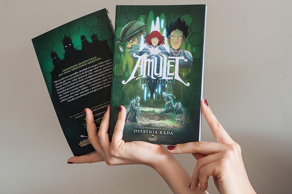 Amulet, księga czwarta: Ostatnia Rada już w sprzedaży!