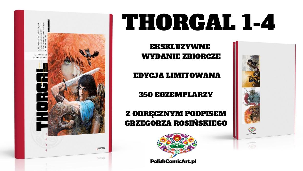 Przedsprzedaż trwa – Planeta Komiksów dystrybutorem ekskluzywnego wydania Thorgala!