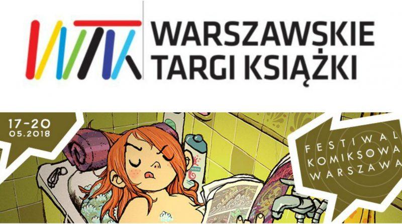 Planeta Komiksów na Komiksowej Warszawie… i na Pyrkonie!