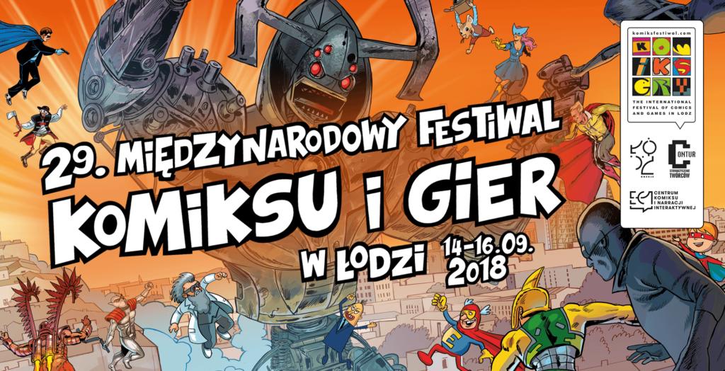 Planeta Komiksów na Festiwalu Komiksu w Łodzi!