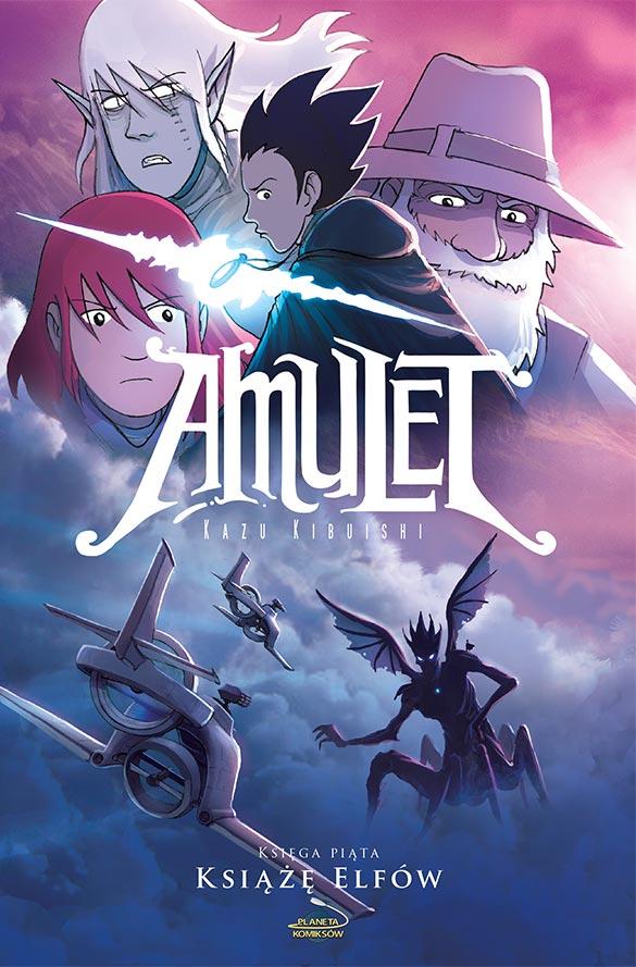Zapowiedź piątej księgi Amuletu!