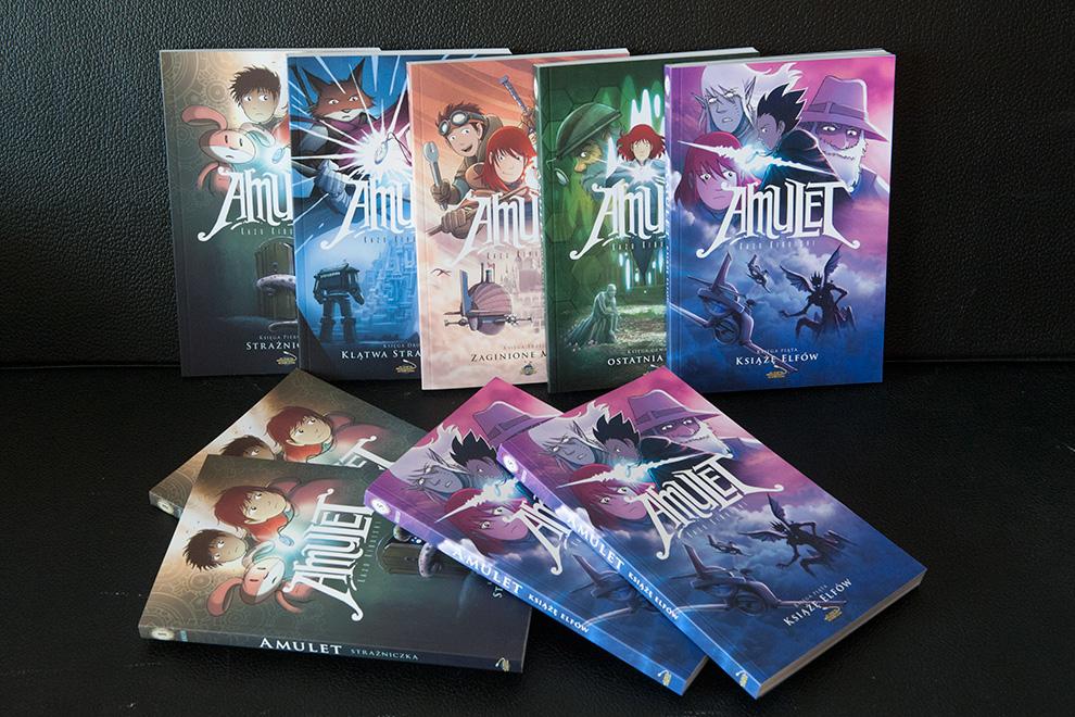 Amulet 5 już w magazynie! Uzupełniliśmy też zapasy części 1!
