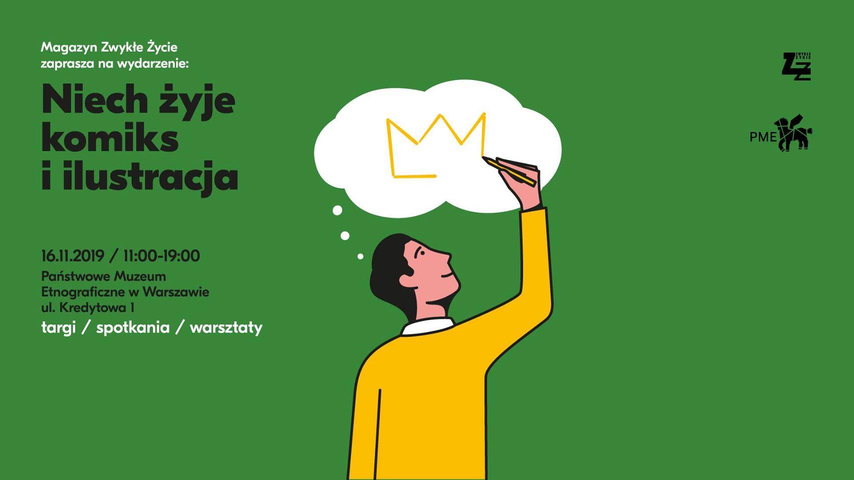"""Planeta Komiksów na Niech Żyje Komiks 4 – stoisko wydawnictwa i autografy autorów antologii """"Tajfuna"""""""