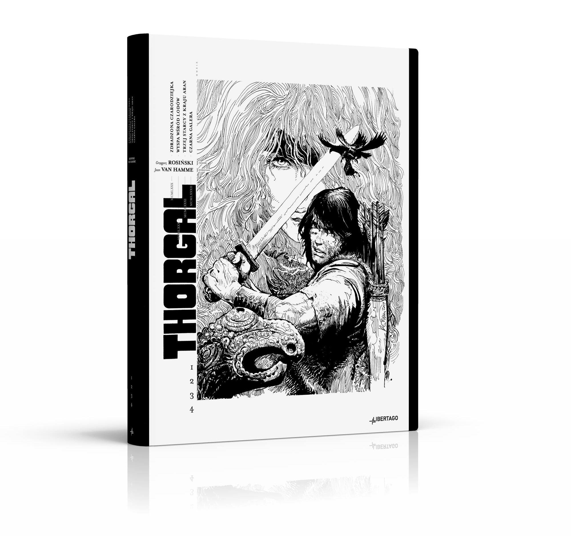 Rusza przedsprzedaż czarno-białego Thorgala (link)